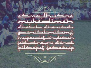Download Kumpulan Font Mirip Huruf Arab Keren Untuk Picsay, Photoshop & Corel Draw 2
