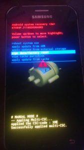 Cara Hard Reset Samsung J1 Ace J110G Dengan Mudah 2