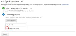 Cara Menautkan Adsense Dengan Google Analytic 6