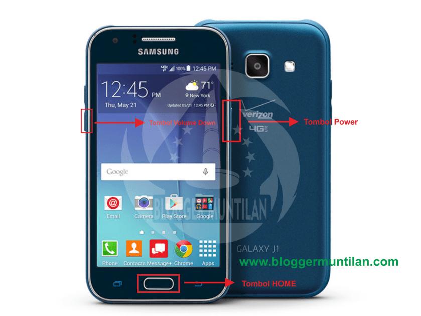 Cara Flash Samsung Galaxy J1 SM-J100HDS Lewat Komputer Atau PC 3