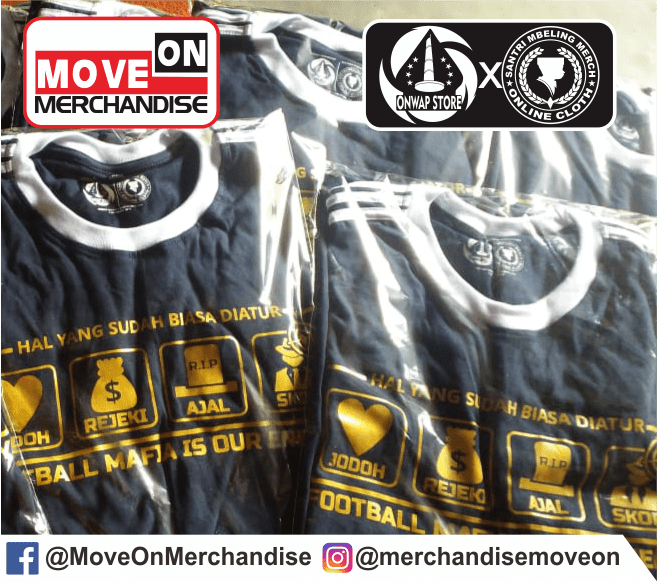 KAOS FOOTBALL MAFIA IS OUR ENEMY BY MOVE ON MERCHANDISE 3