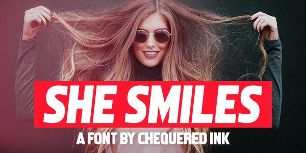 Download 10 Font Tebal TTF Terbaik Terbaru 2019 Gratis she_smiles