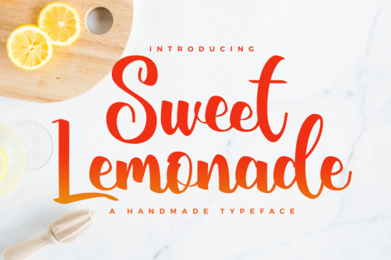 Download Kumpulan Font Latin Terbaru Terbaik 2019 Part 1 sweet_lemonade