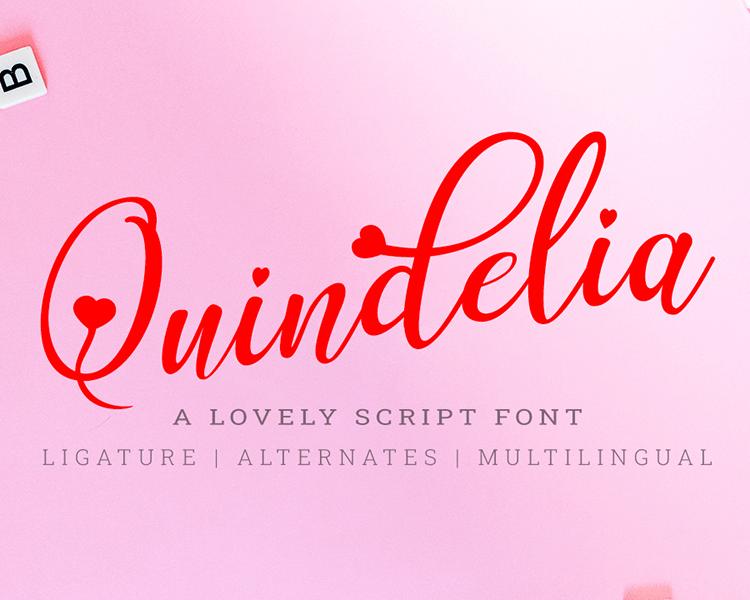 Kumpulan 5 Font Keren Terbaik Terbaru 2020 Part 3 Quindelia