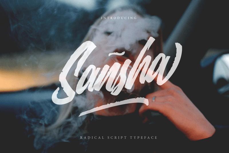 Kumpulan Font Latin Gratis Terbaik Terbaru 2020 Part 1 sansha