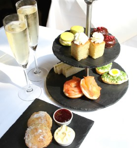 afternoon tea at Gallery Mess