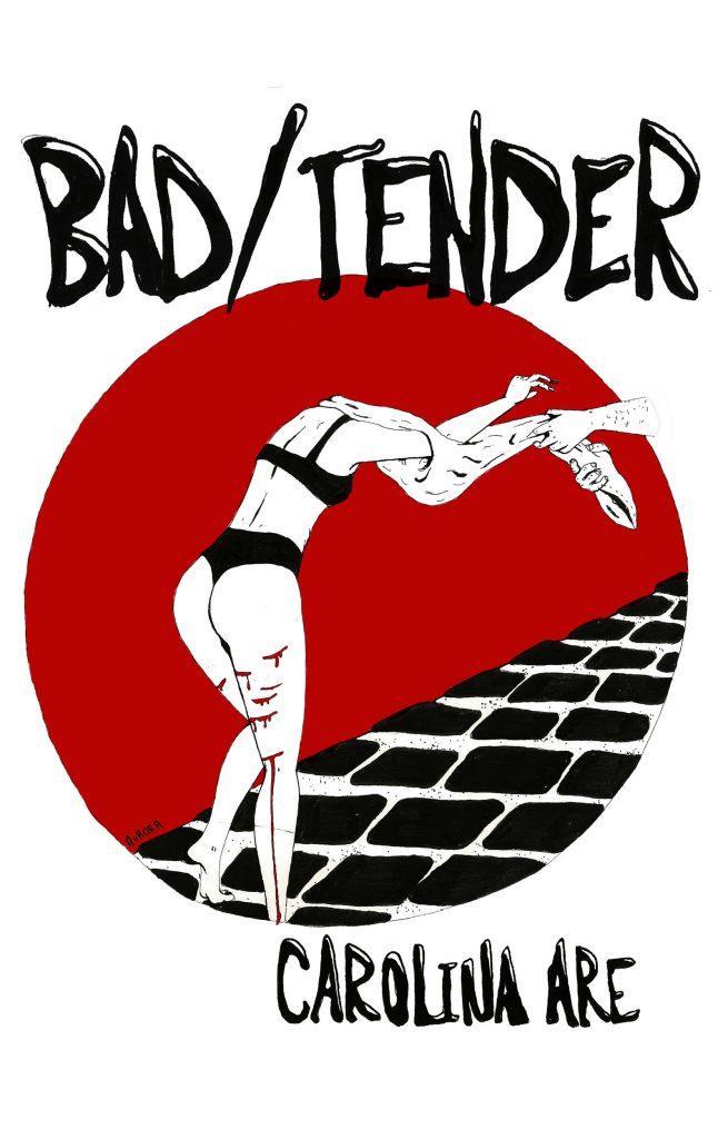 """<img src=""""BadTenderCover.jpg"""" alt=""""Bad/Tender Novel Cover designed by Aurora Campbell"""">"""