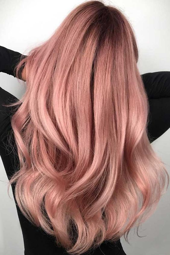 Official Hair Color Trend Of This Summer: Rose Gold