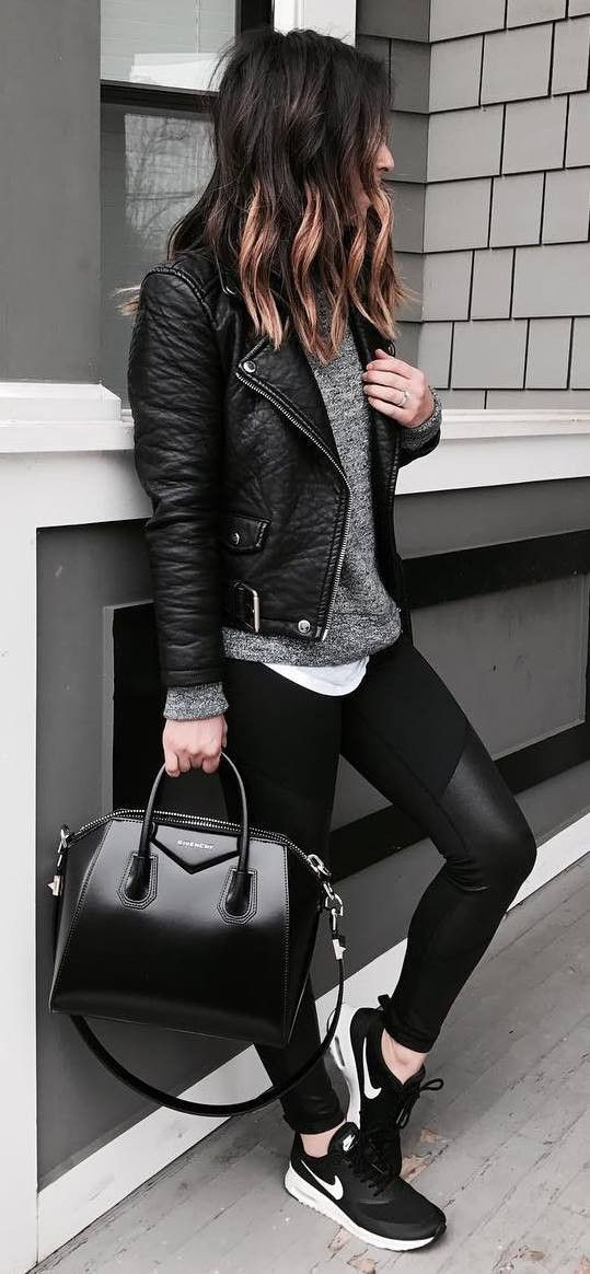 Best Way To Style Black Leggings