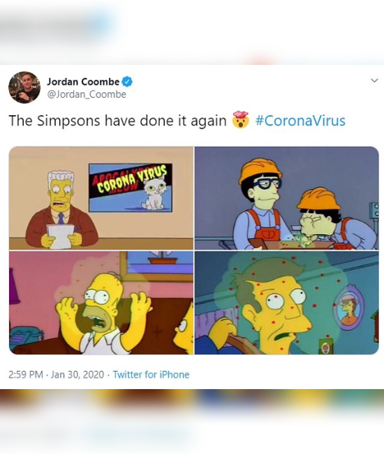 10 Moments In Pop Culture That Predicted The Coronavirus