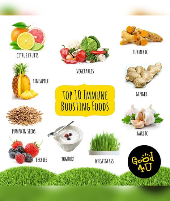 12 Ways To Boost Your Immune System
