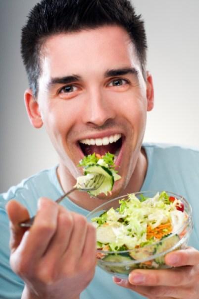 Enjoy a healthy salad