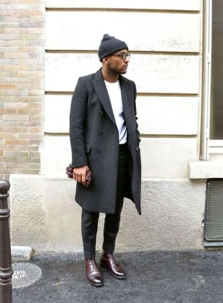 Man Wearing Beanie