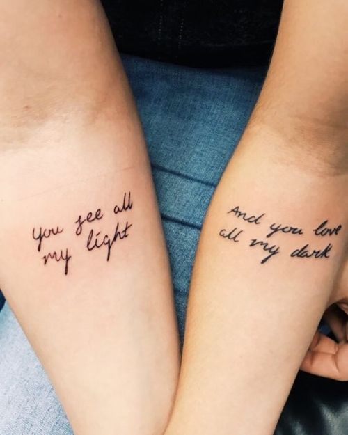 15 Couples Tattoos To Consider That Aren T Each Other S Names Society19