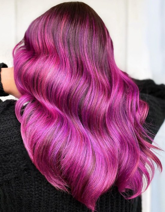 10 Ways To Wear Hot Pink Hair