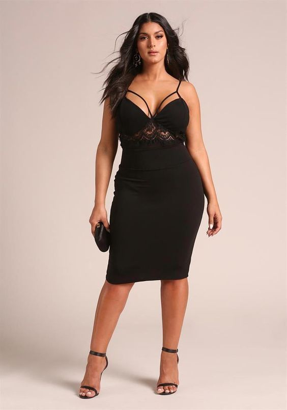 Plus Size Party Outfits For Winter