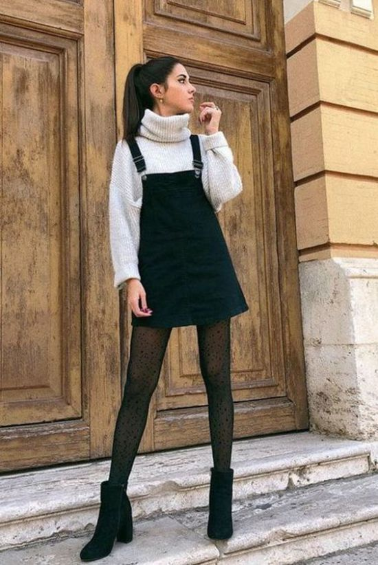 10 Ways To Wear A Dress This Fall And Look Totally Trendy