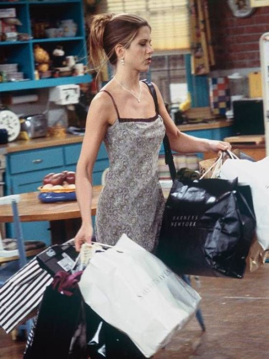 Mode beeinflusst Charaktere aus den 1990er Jahren