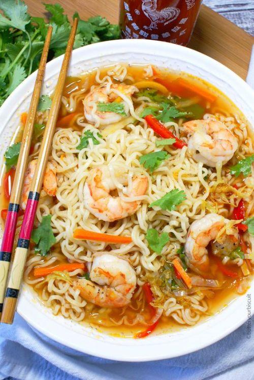 15 Recipes Using Ramen Noodle Flavors