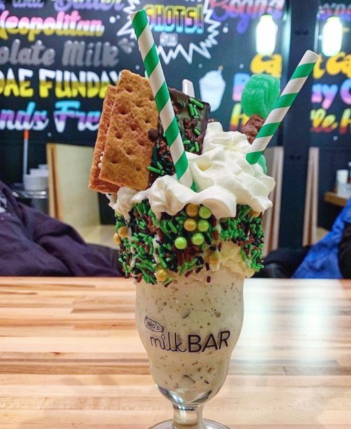 10 places that serve delightfully over the top milkshakes