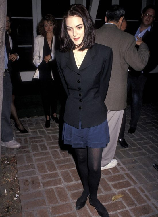8 Of Winona Ryder's Best Outfits