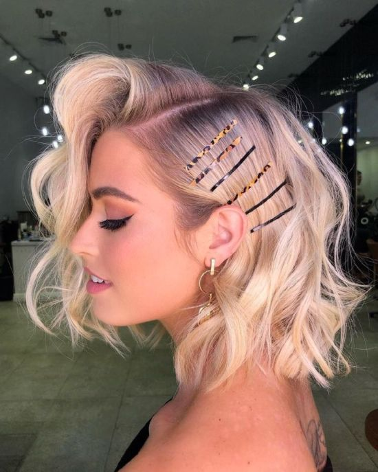 30 Cute Prom Hairstyles For Short Hair Society19