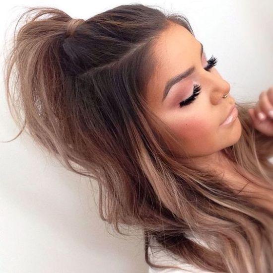 Schnelle und einfache Frisuren für die Universität