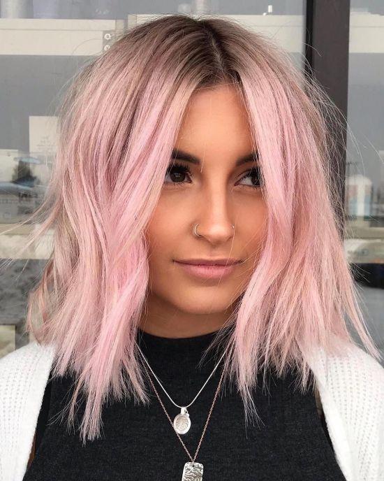 10 Beautiful & Unique Colored Hair Ideas