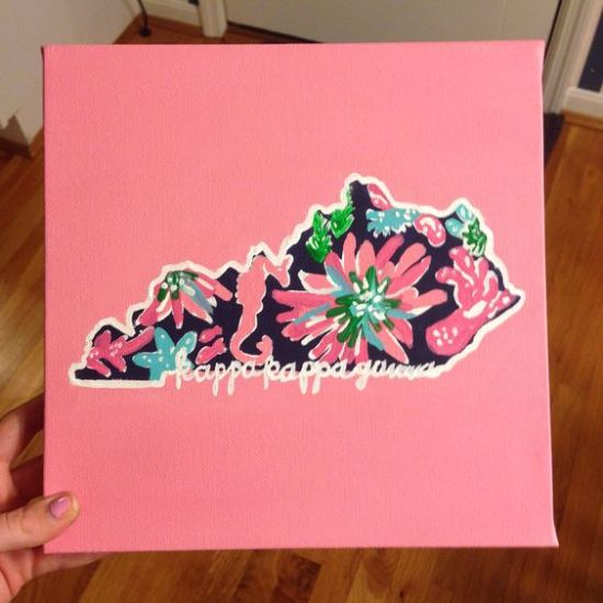 10 Sorority Canvases So Adorable That You Need Them Yourself