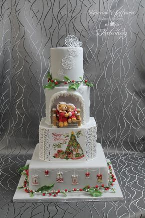 10 Christmas Themed Cakes