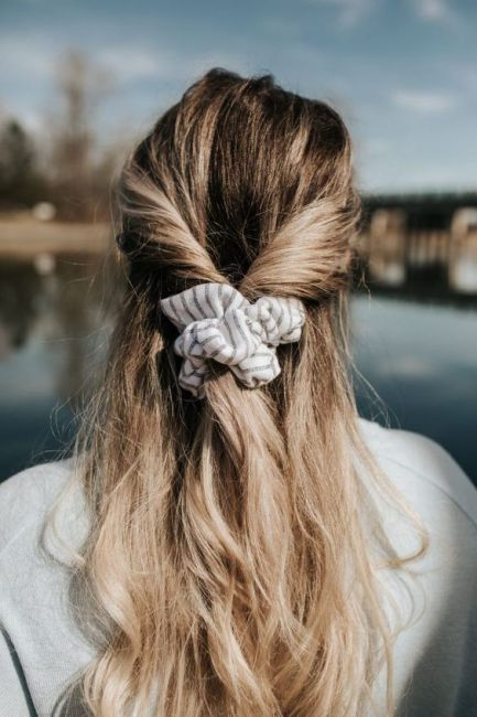 Scrunchy Looks Are Back And Here Are All The Best Ones For You