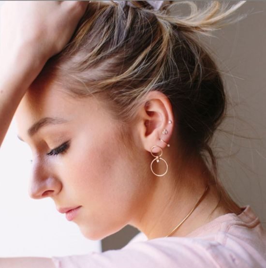 Everything You Need To Know About Constellation Ear Piercings