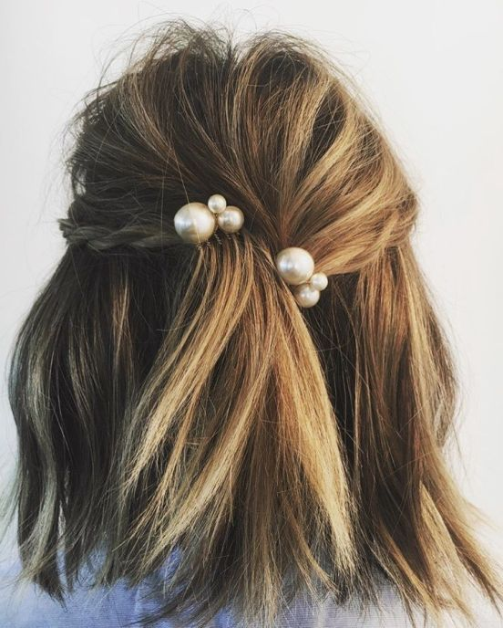 12 Cute Spring Formal Hairstyles for Short Hair