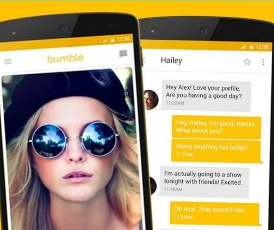Bumble, like Tinder, is a location-based social search mobile dating application that facilitates communication for singles.