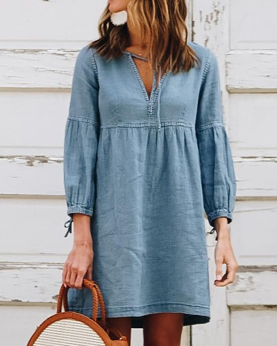 14 Denim Dresses We're In Love With For Summer