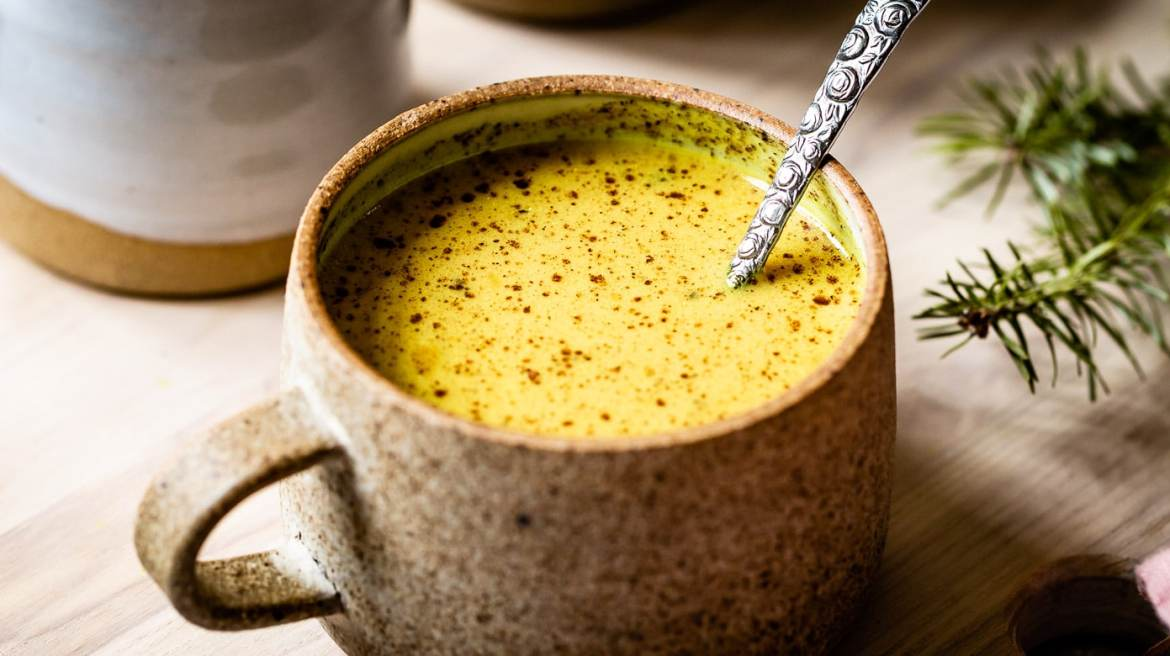 Golden Milk- a delicate blend of many different spices!