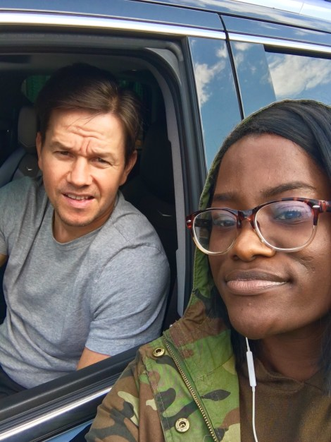 I Caught Mark Wahlberg In The Hood