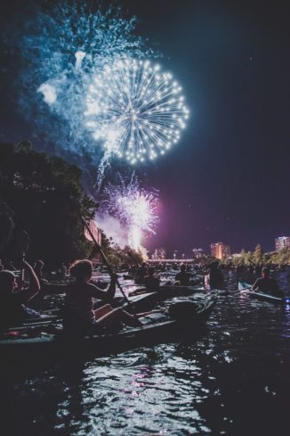 The Fourth of July is quickly approaching and Austin is the perfect place to spend it.
