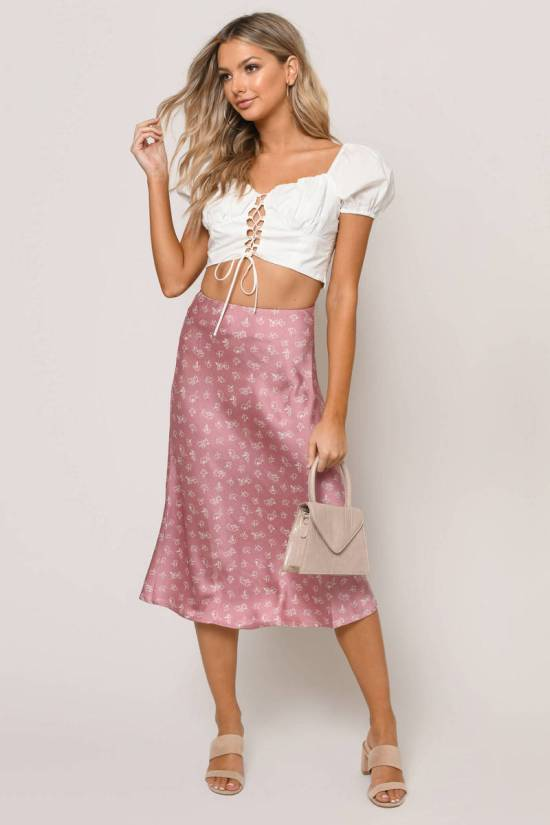 10 Summer Skirt Outfits That Prove You Can Live Without Wearing Pants All Summer Long