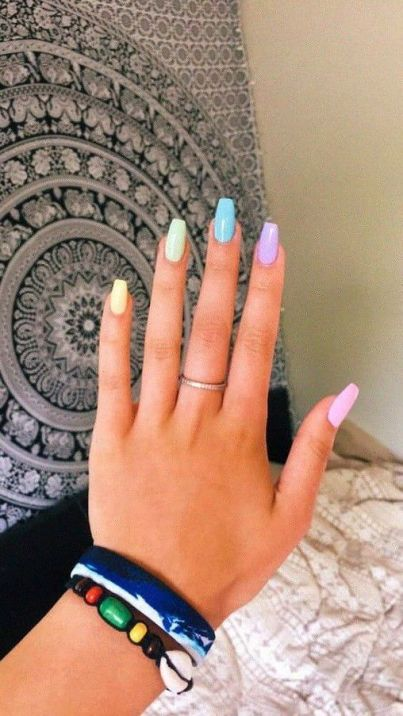 Nail Polish Ideas To Help Get Your Summer Mani On Point