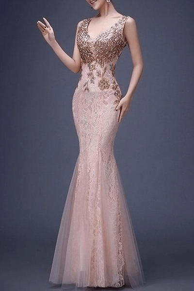 Paillette Deluxe Evening Dress