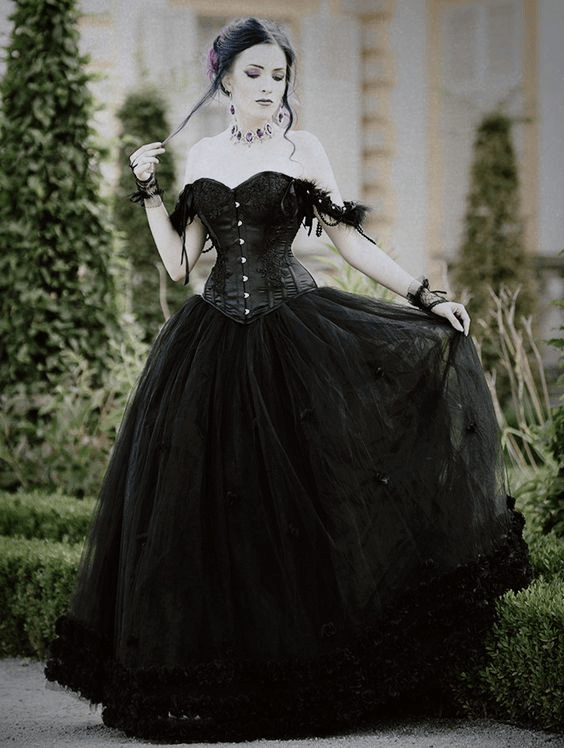 Beautiful Gothic Dress