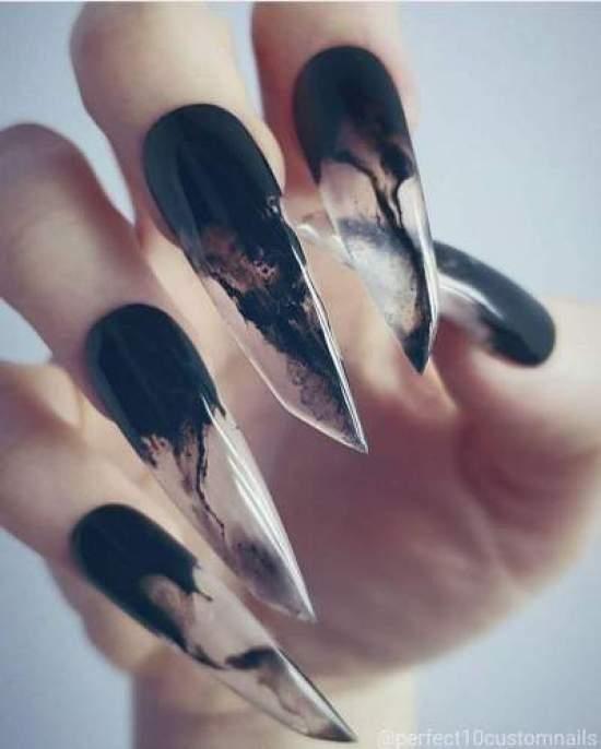 halloween nail art '