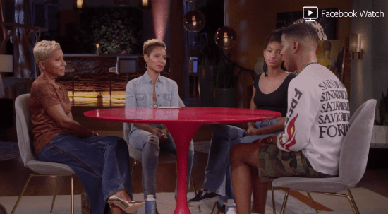 The Beauty of Jada Pinkett-Smith's Red Table Talk