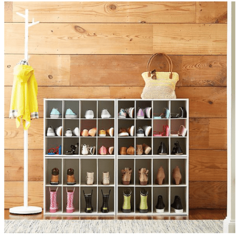 10 shoe organizer ideas to help clean up your dorm