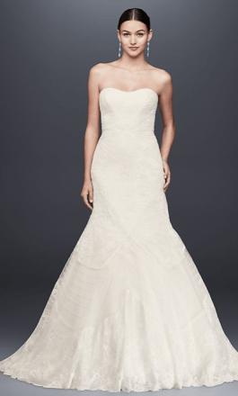 *10 Mermaid Wedding Dress Ideas Inspired By Celebrities