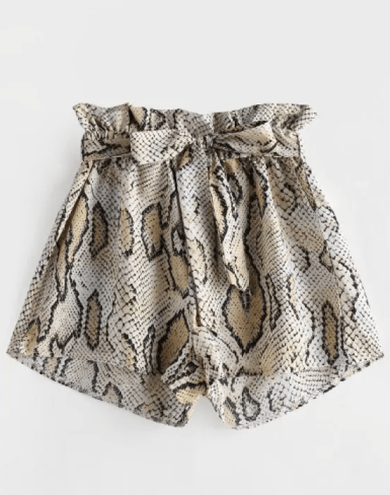 10 Outfits That Prove The Snakeskin Print Is Here To Stay