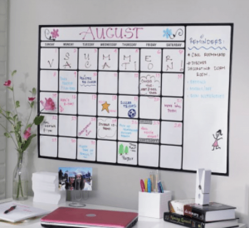 *8 Wall Calendars You Can Hang In Your Dorm Room
