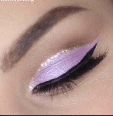 An idea for a pastel cut crease look