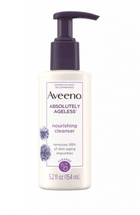 Aveeno Absolutely Ageless Nourishing Facial Cleanser